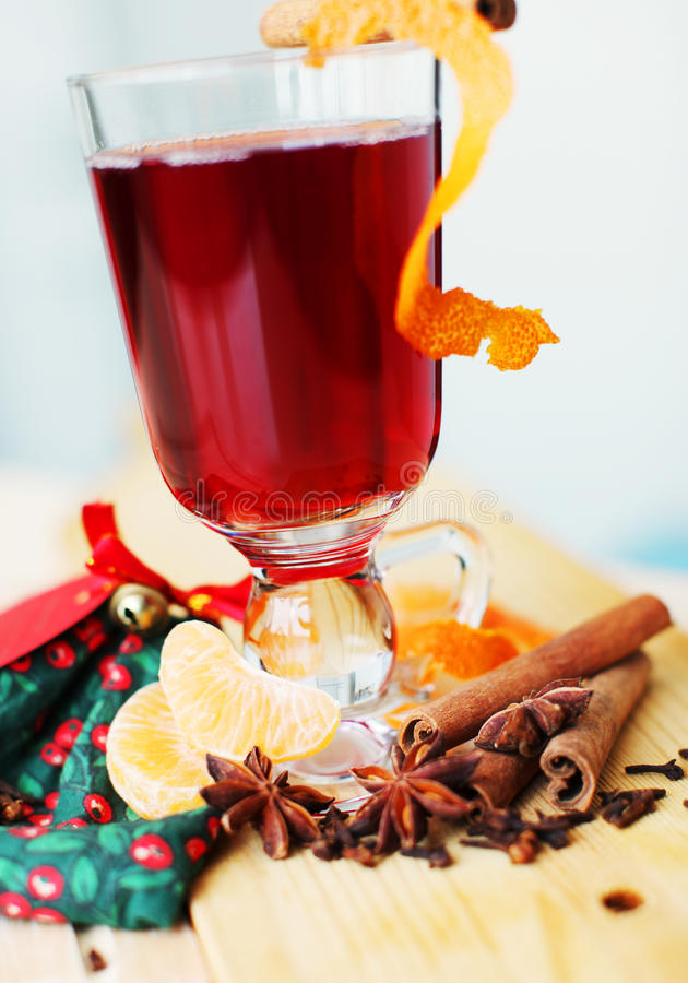 Download Mulled wine stock image. Image of homemade, fruit, decorated - 22902517
