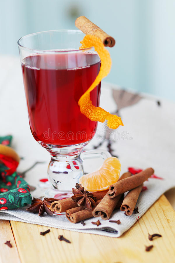 Download Mulled wine stock image. Image of brown, decoration, christmas - 22902557