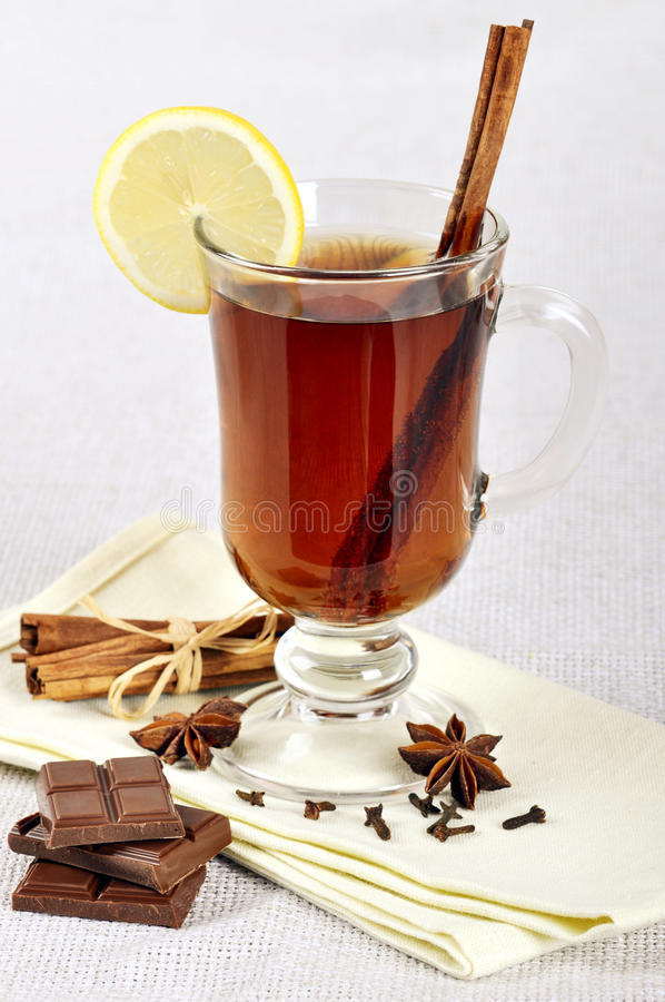 Download Mulled wine stock photo. Image of food, brown, star, glass - 22982890
