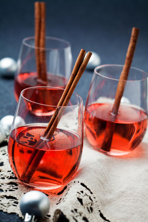 Download Mulled wine stock image. Image of closeup, mulled, decorated - 26194011