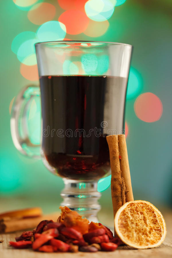 Download Mulled wine stock photo. Image of berries, warm, glass - 27362980