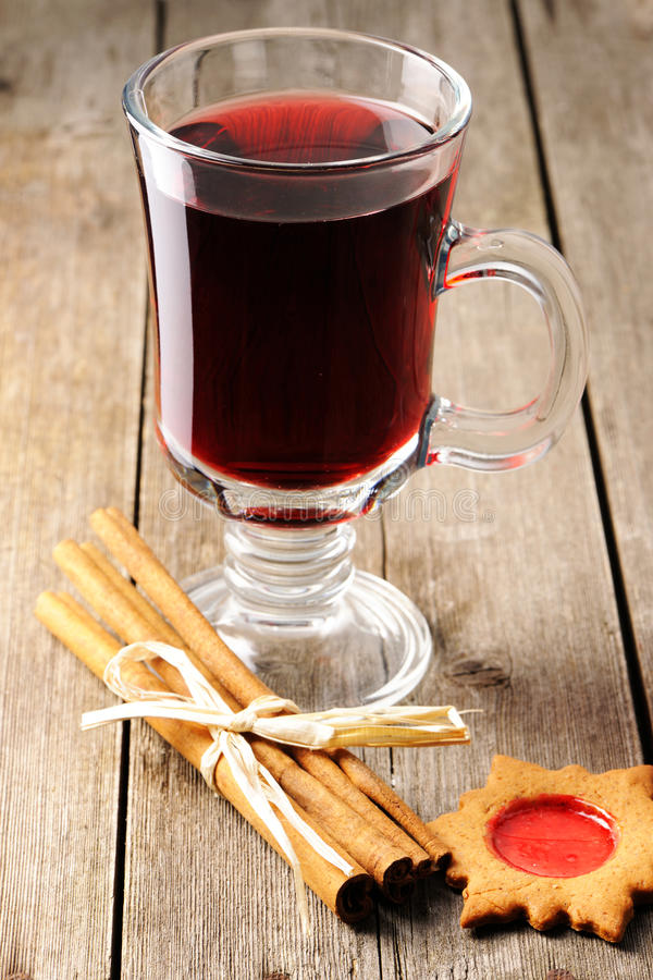 Download Mulled wine stock image. Image of cookie, star, aromatic - 27524639