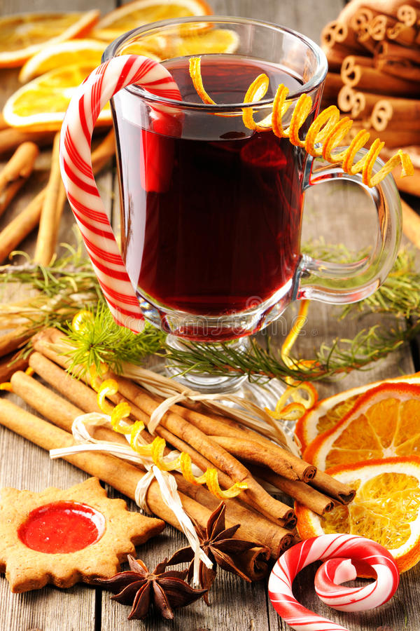 Download Mulled wine stock photo. Image of stick, homemade, star - 27524650