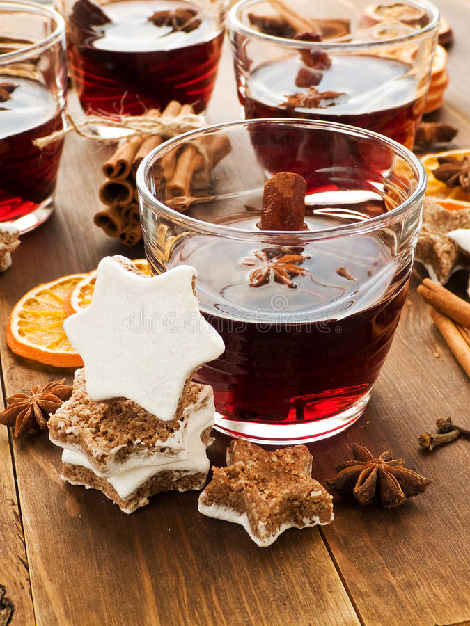 Download Mulled wine stock image. Image of cinnamon, food, icing - 27603583