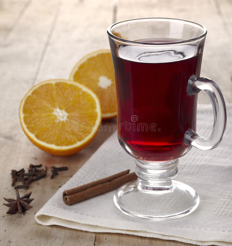 Download Mulled wine stock image. Image of brown, beverage, drink - 27640081