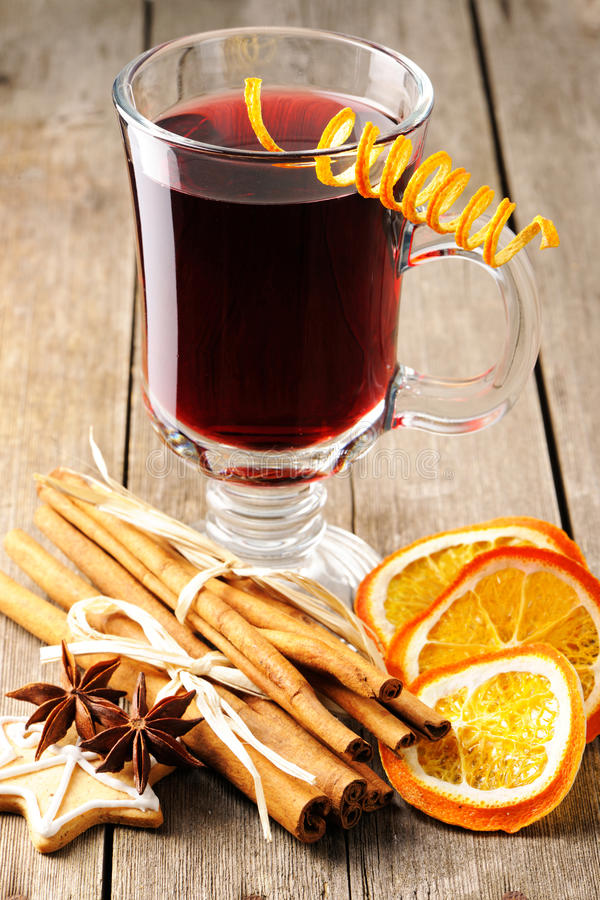 Download Mulled wine stock image. Image of punch, cinnamon, beverage - 27657115