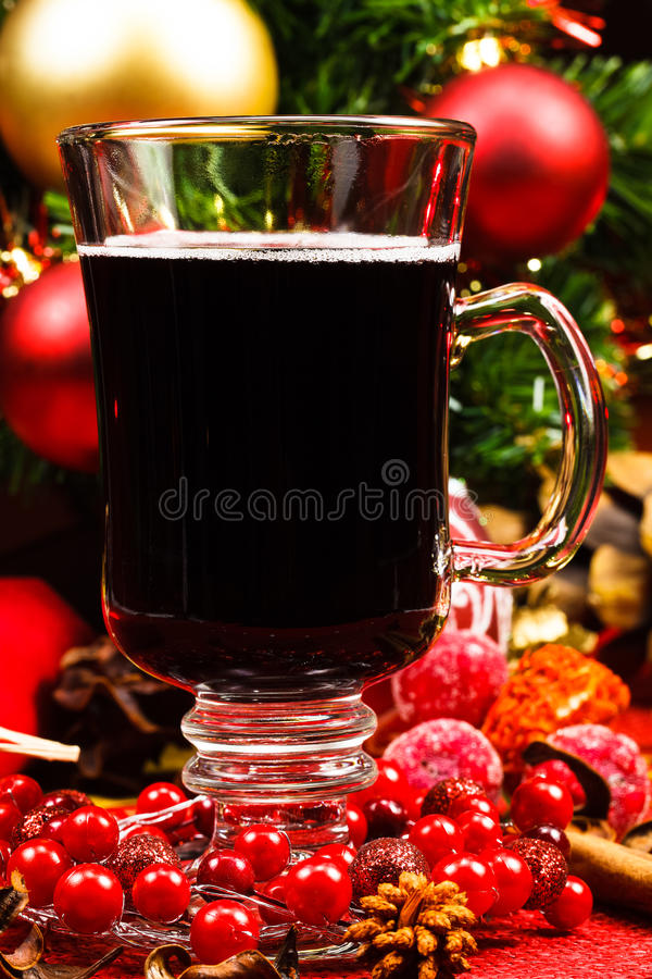 Download Mulled wine stock photo. Image of background, cookie - 29671788