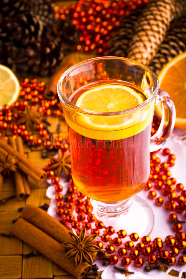 Download Mulled Wine With Cinnamon Sticks Stock Image - Image: 27393813
