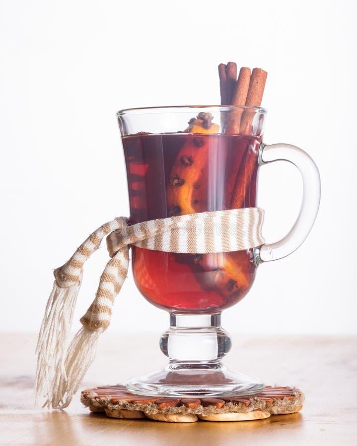 Download Mulled wine stock photo. Image of warming, orange, season - 33831998