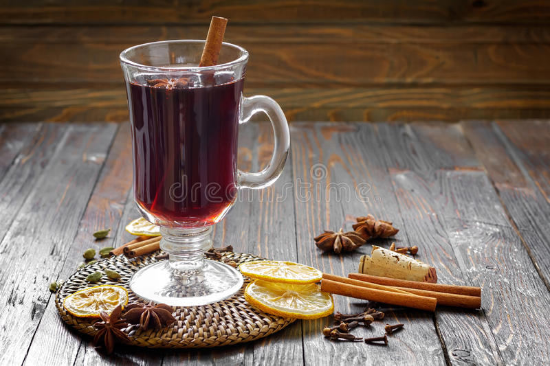 Download Mulled wine stock photo. Image of glühwein, anise, delicious - 33822104