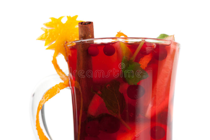 Download Mulled wine stock image. Image of macro, drink, citrus - 42153061