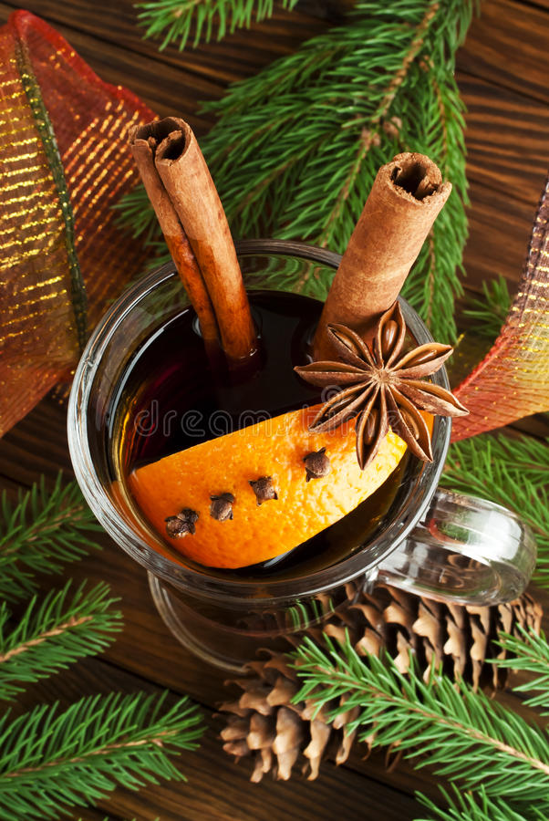 Download Mulled wine stock image. Image of holiday, brown, christmas - 42933573