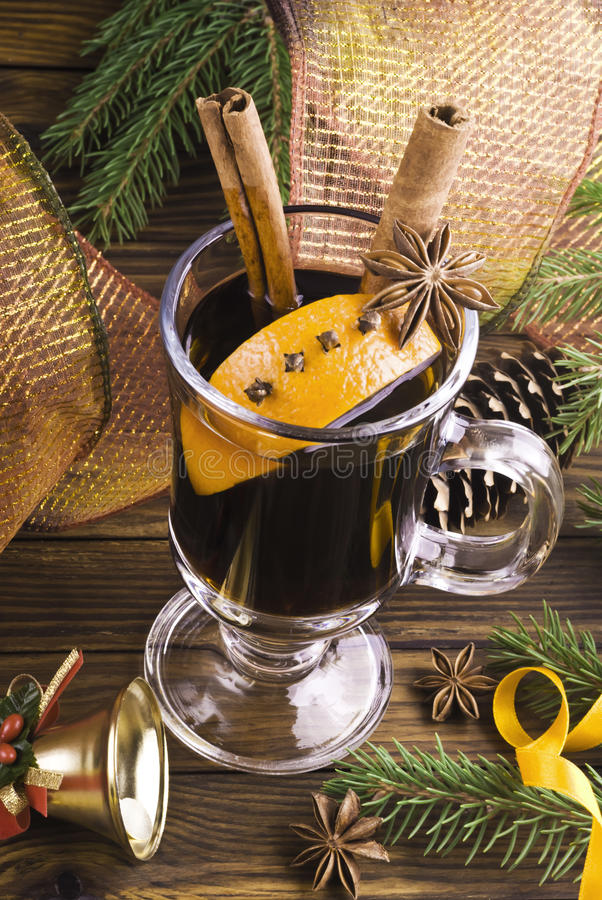 Download Mulled wine stock photo. Image of alcohol, brown, fruit - 42933626