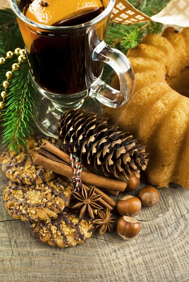 Download Mulled wine stock image. Image of nutrition, clove, bright - 42933681
