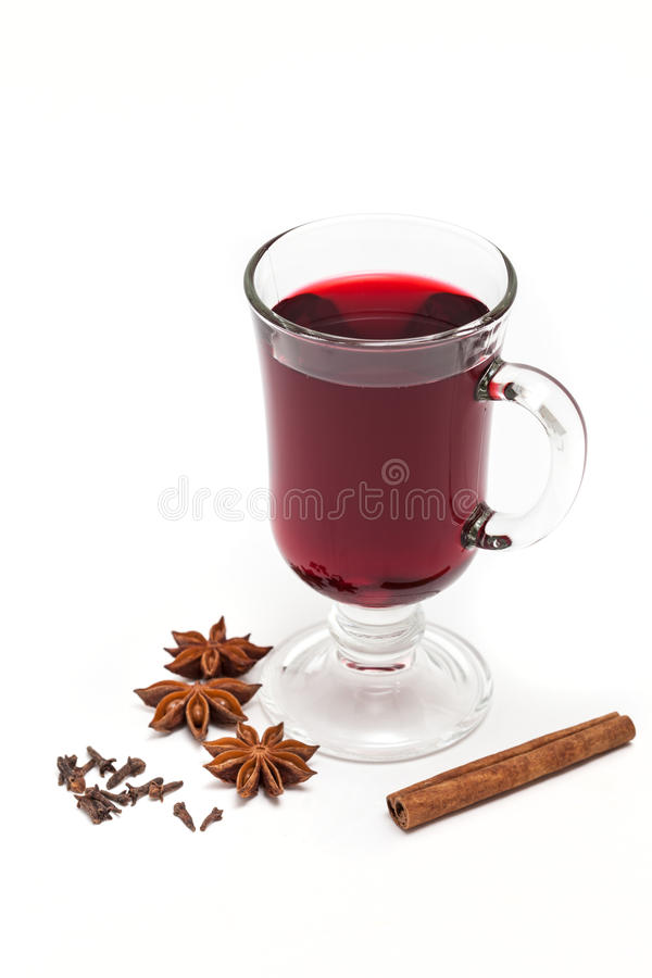 Download Mulled wine stock image. Image of christmas, fruit, glass - 36074255