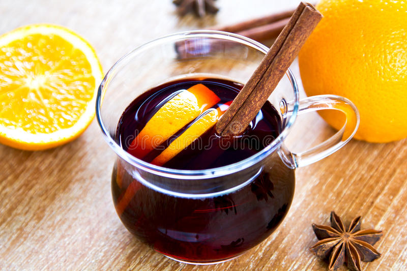 Download Mulled wine stock photo. Image of party, glass, aroma - 35728790