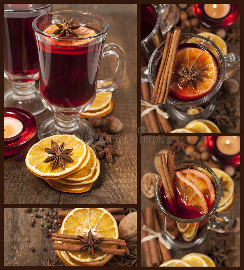 Download Mulled wine with spices stock photo. Image of seasonal - 28794460