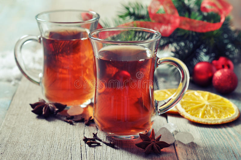 Download Mulled Wine With Spices Royalty Free Stock Photography - Image: 34734387