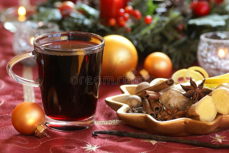 Download Mulled wine stock image. Image of glass, life, candle - 32582909