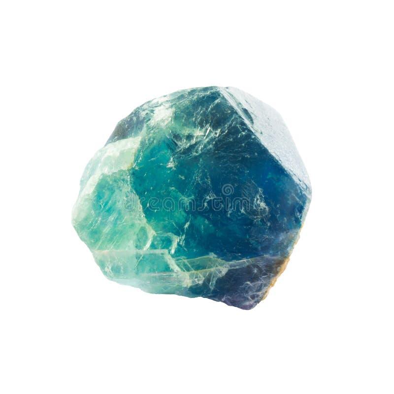 Multi покрашенный фторит, кристалл минерала fluorspar стоковое фото rf