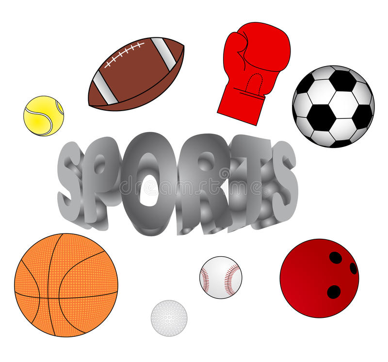 Download Multi спорты иллюстрация вектора. иллюстрации насчитывающей тренировка - 18395320