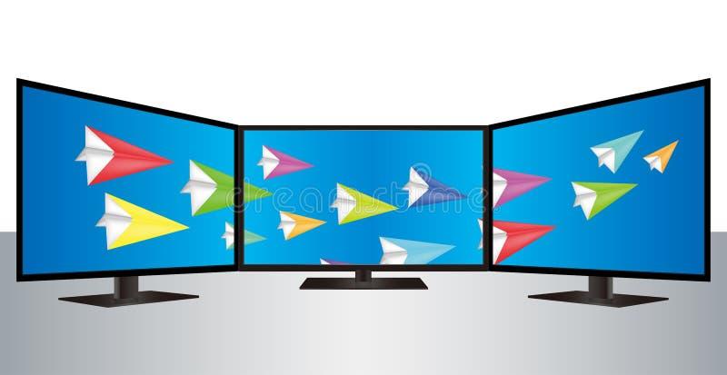Multi умный вектор ТВ бесплатная иллюстрация