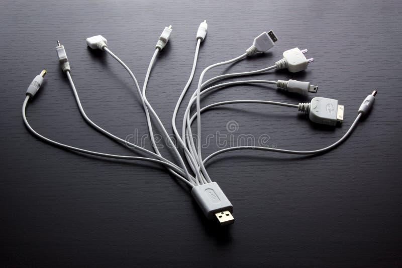 Multi adaptadores de USB foto de stock royalty free