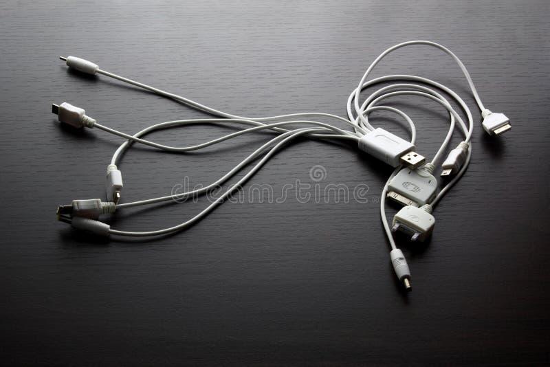 Multi adaptadores de USB imagem de stock