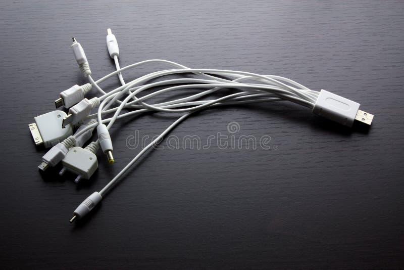 Multi adaptadores de USB imagem de stock royalty free