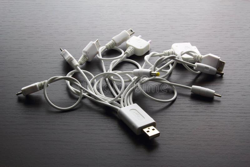Multi adaptadores de USB fotos de stock royalty free