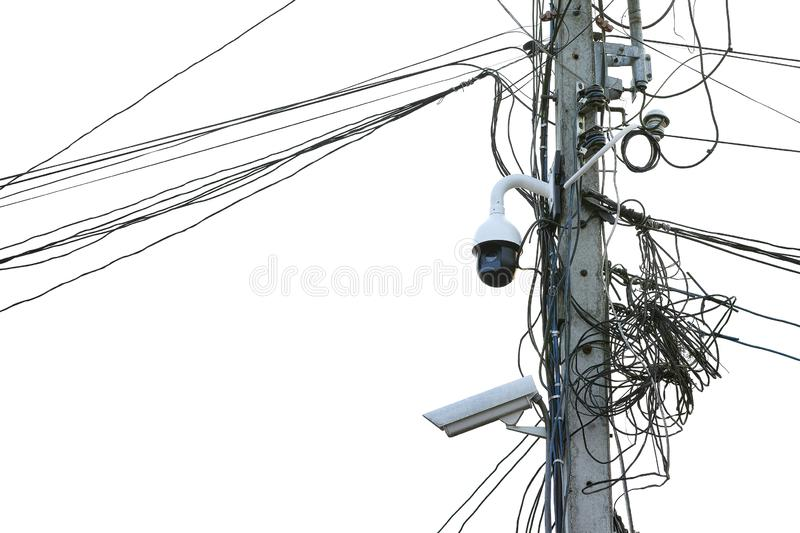 Multi-angle CCTV surveillance security for home town or village security systems monitor stock photos