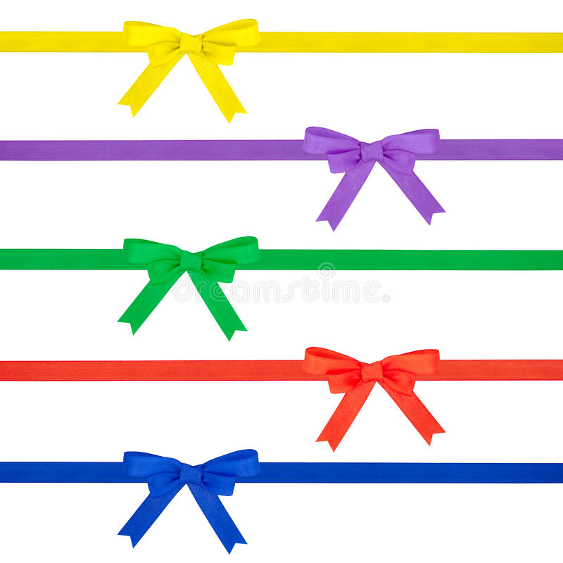 Multi arco colorato del nastro immagine stock libera da diritti