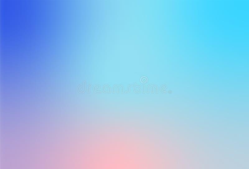 Multi bunter unscharfer Steigungshintergrund des Zusammenfassungs-modischen weichen Pastells für moderne helle Website-Fahne oder stockfotos
