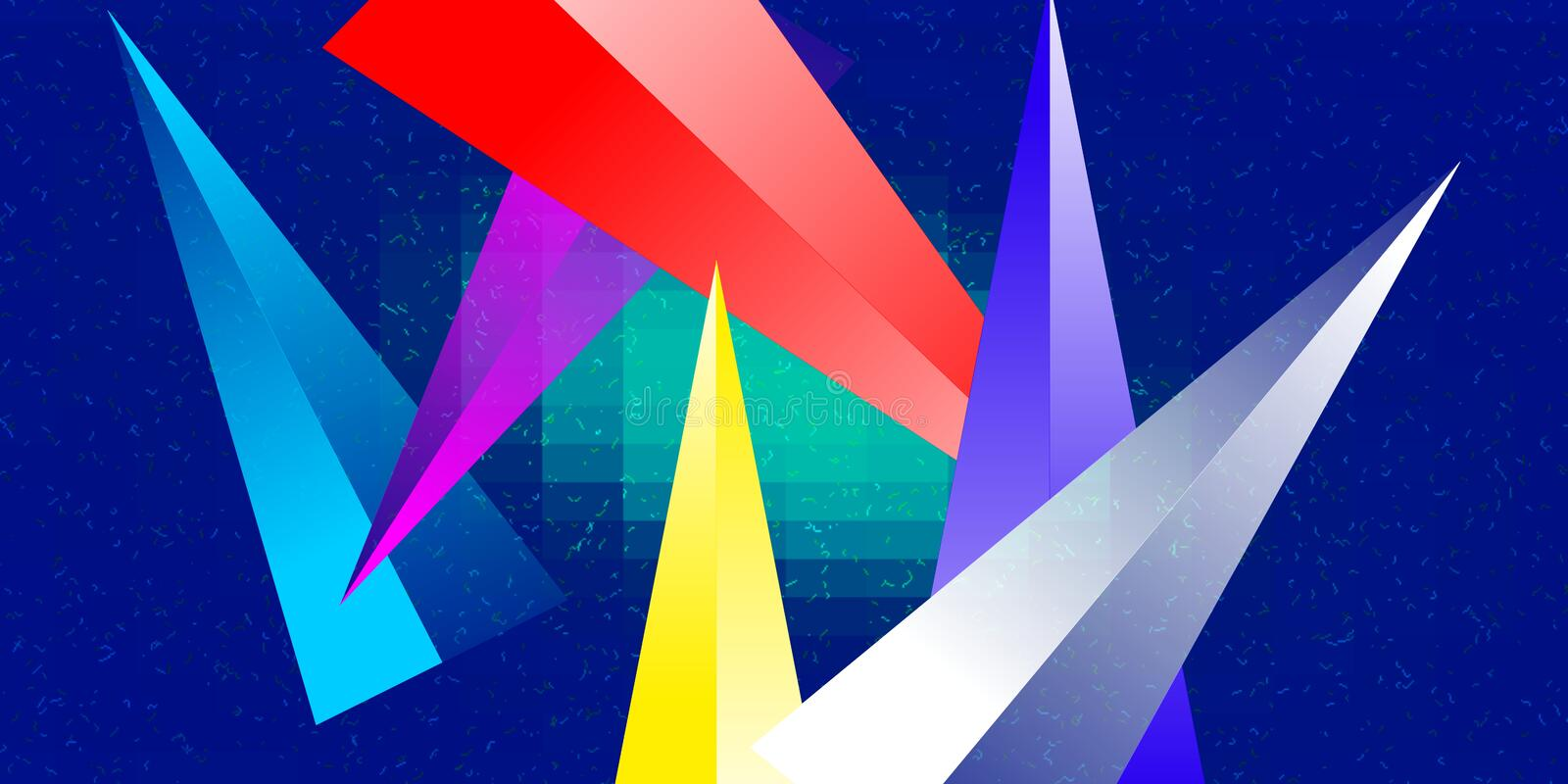 Multi  color with  lighted and sparkling effect computer generated background  image for wallpaper design. Multi color with  lighted and sparkling effect royalty free illustration