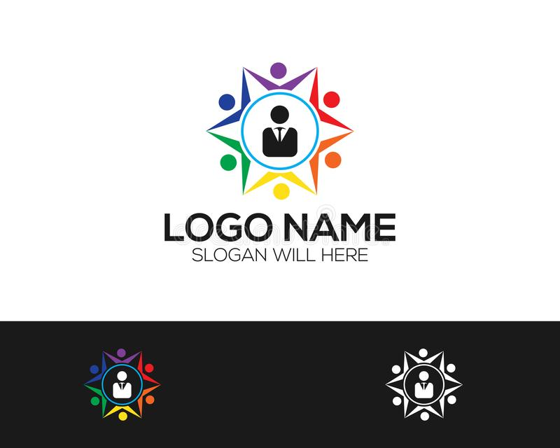 Multi-color Logo Template online store vectors illustration. This is very easy to use. U ca Use as your won simply vector illustration