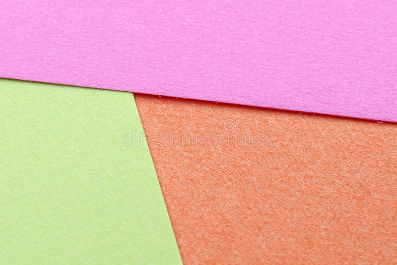 Multi Color Paper royalty free stock photo
