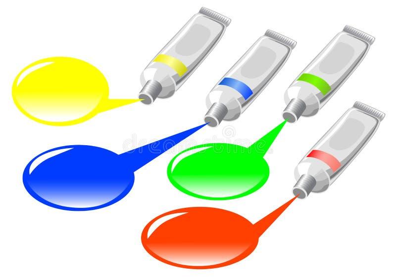 Multi colorato illustrazione di stock