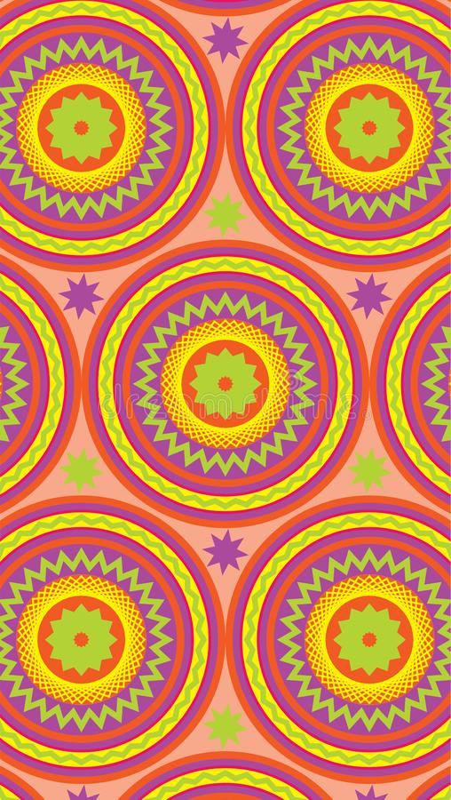 Multi-colored background. Suitable for the background of mobile phones. Vector vector illustration