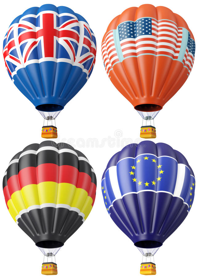 Download Multi-colored balloon stock illustration. Illustration of britain - 24881650
