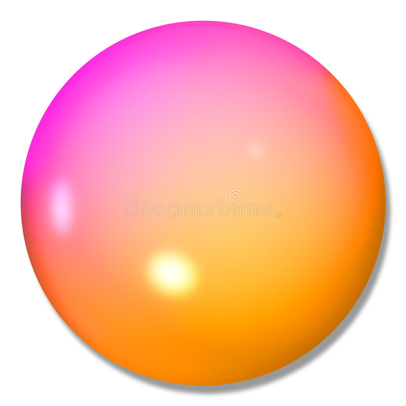 Download Multi-colored Button Ball Marble Stock Illustration - Image: 1703675