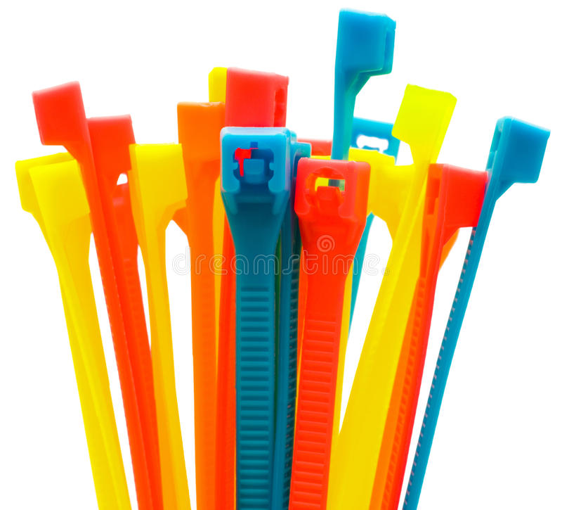 Download Multi Colored Cable Ties Royalty Free Stock Photos - Image: 27944178