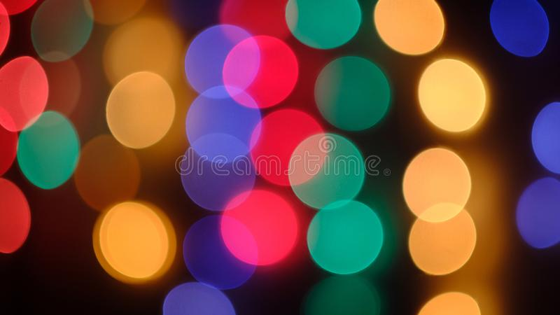 Multi-colored garland stock photos