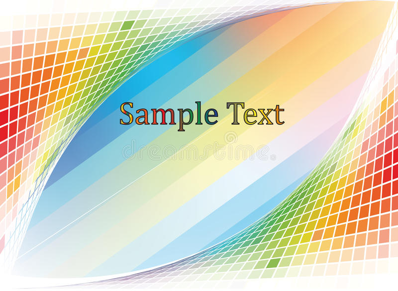 Download Multi-colored  mosaic stock vector. Image of religion - 23822144
