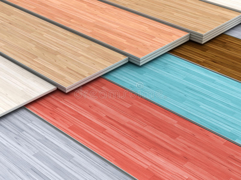 Multi Colored Parquet Flooring Boards Stock Ilration Of Plank 68416665