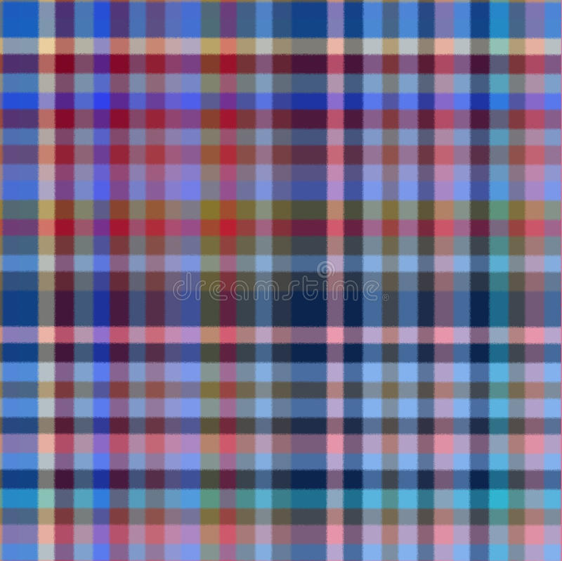 Multi-colored Plaid Background royalty free stock photo
