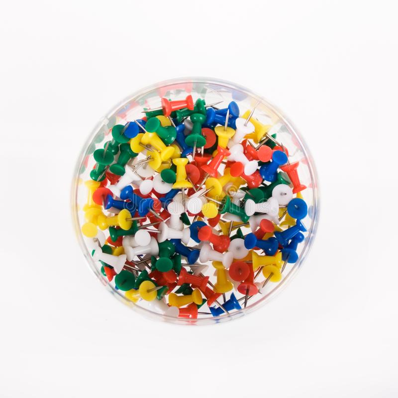 Multi Colored Push Pins