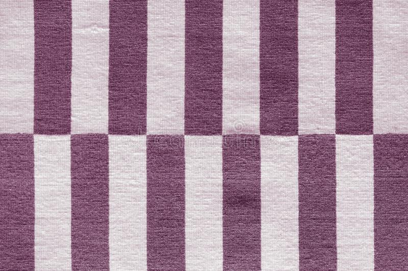 Multi-colored stripes on the fabric. Colorful traditional Peruvian style, close-up rug surface royalty free stock image