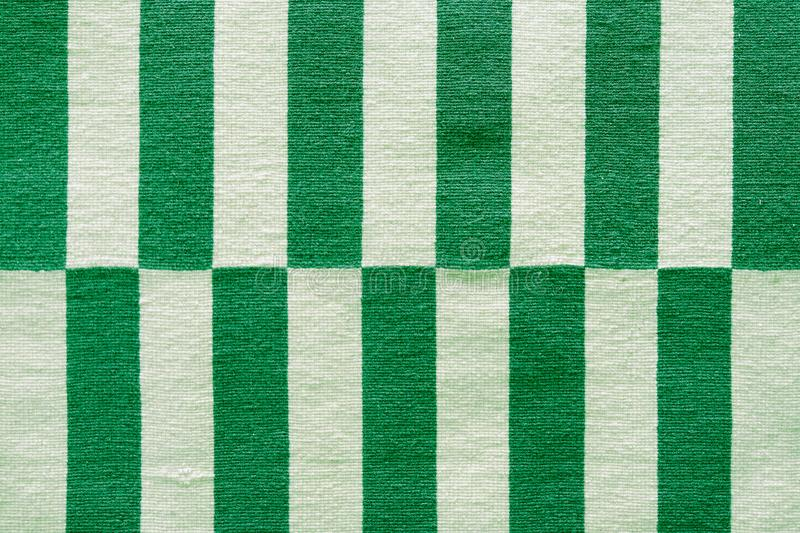 Multi-colored stripes on the fabric. Colorful traditional Peruvian style, close-up rug surface stock images