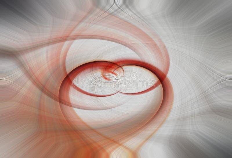 Multi colored swirl background - illustration vector illustration