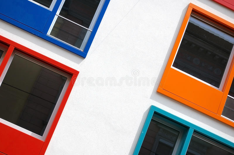 Download Multi Colored Windows stock photo. Image of exterior - 19484890